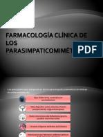 Farmacología Clínica de Los Parasimpaticomiméticos