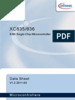 XC836 Data Sheet