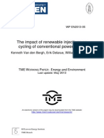 Cycling of Conventional Power Plants
