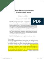 Periferias, direito e diferença (Gabriel Feltran)