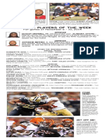 BCSP NFL ProFile for November 11, 2014