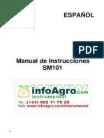 Instrucciones Sonometro Profesional Digital Clase2 Sm 101