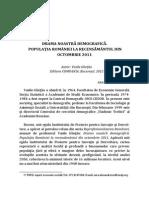 11 Drama Noastra Demografica. Populatia Romaniei La Recensamantul Din Octombrie 2011