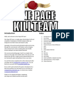 One Page Kill Team Complete v0.13.4