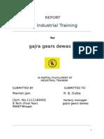 Gajra Gears Summer Training Report