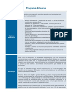 Programa Del Curso 201402