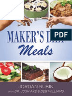 Maker's Diet Meals - FREE Preview