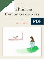 La Primera Comunion de Nina
