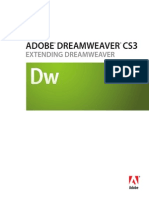 Dreamweaver Cs3 Extending