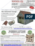 Petite Properties News Annoucement 2 February 2012