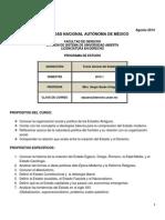 Programa de Estudio 2015-1 Tge