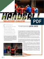 Revista Rcd Hanball Chile