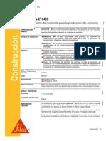Aditivo Proceso Molienda - HT_SikaGrind 363