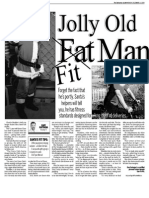 Santa Charlie, Keeping Fit, Sun Media (Dec. 21, 2009)