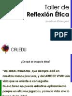 21-05-14 - El Hábito de La Reflexión Ética