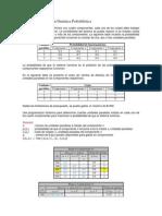 INVOP2 Programación Dinámica Probabilística