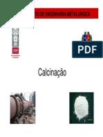 4 - Calcinação