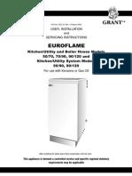 Grant Euroflame SE Models Installation Servicing Instructions 2003