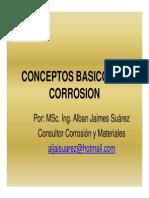 Conceptos Basicos Corrosion MSc Alban Jaimes