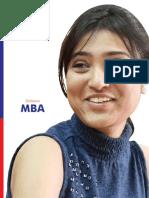 MBA Prospectus (ICFAI)