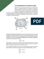 Ecuaciones de Movimiento de Cinética Plana (Exposicion)