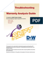 Clutch Troubleshooting and Warranty Analysis Guide - Unknown