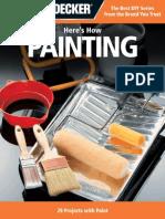 Black & Decker Heres How Painting