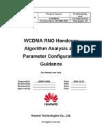 Wcdmarnohandoveralgorithmanalysisandparameterconfigurtaionguidance 20050316 a 1-0-100126082353 Phpapp01