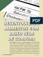 Alimentos Baixo Teor de Gordura