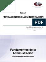 Tema I-4 Fundamentos de La Administracion