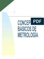 Conceptos de Metrología