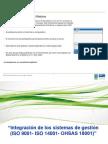 Integracion de SG 9001-14001-18001