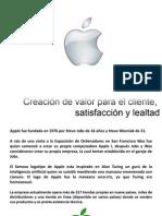 Valor Para El Cliente. Apple
