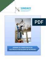 Anexo Res. 019-2014-CDAH-P - Perfil Electricista Instalador de Interiores