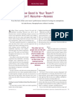 Assess Don't Assume Article