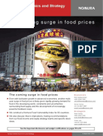 Surging Food Prices Nomura