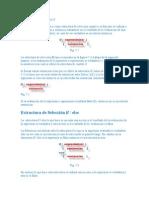 La Estructura de CONTROL sentencias