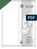 Padwico 938 Barnvakt Manual