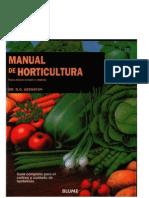AGRICULTURA MANUAL Dr. D.G. Hessayon - Manual de Horticultura (Guía Completa Para El Cultivo y Cu