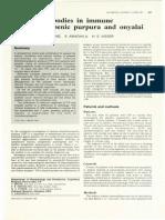 1.5 Platelet Antibodies in Immune Thrombocytopenic Purpura and Onyalai