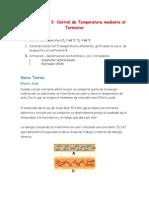 Control de Temperatura Mediante El Termistor