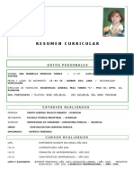Curriculum Ana Mendoza