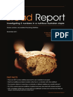 the bread report