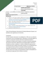 Tema 3. Organismos Regionales e Internacionales