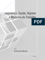 Macedo -Segurança, Saúde, Higiene e Medicina Do Trabalho