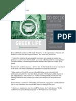 Greek recruitment draws near