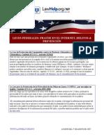 Federal Internet Laws