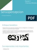 Sensopercepcion enfoque gestaltico