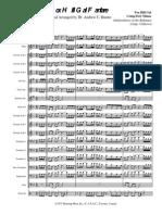 Fox Hill Gal Fanfare - Score