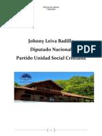 Informe de Labores - Diputado Johnny Leiva - I Semestre 2014